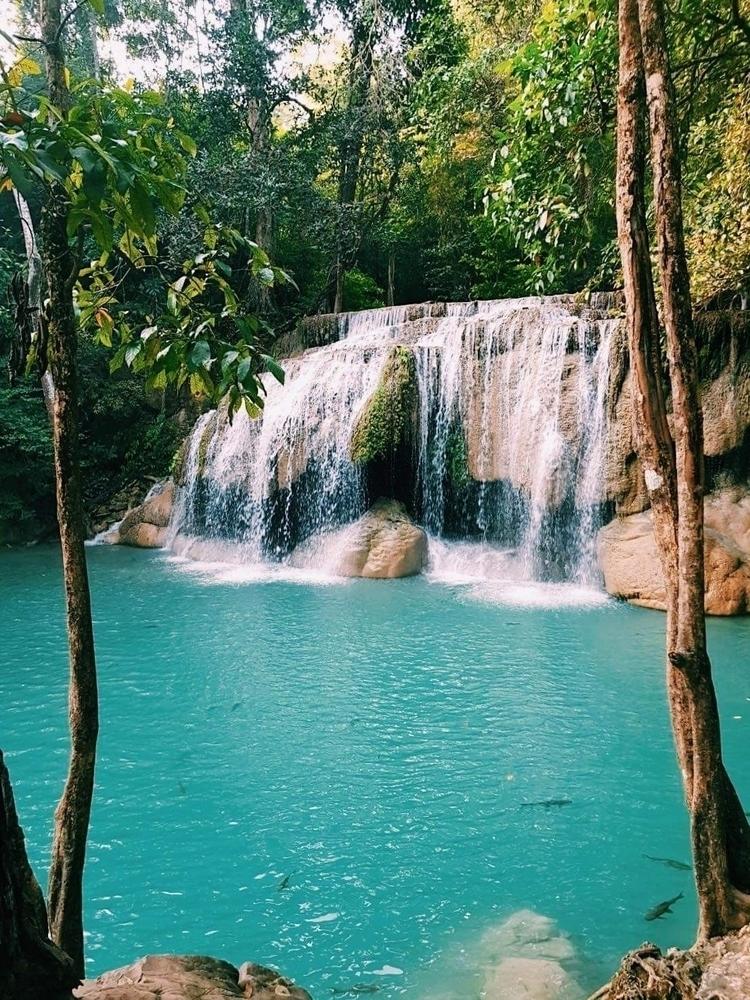 Erawan national park, Thailand - pharney | ello