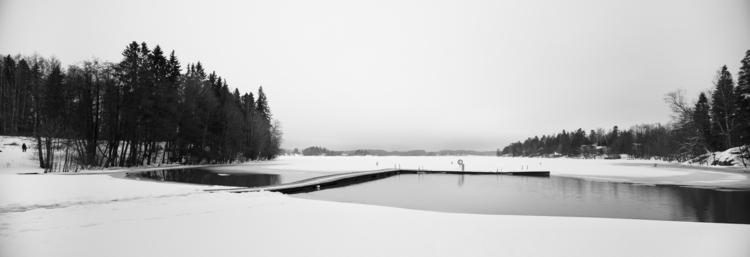 Wintry beach - photography, landscape - anttitassberg | ello