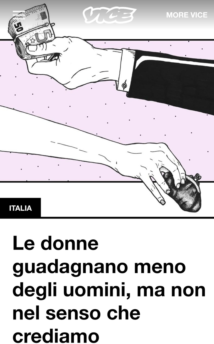 Gender Pay Gap. illustration VI - argiuolo | ello