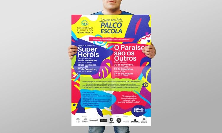 Theatre Poster, postcard, socia - ericoalmeida | ello