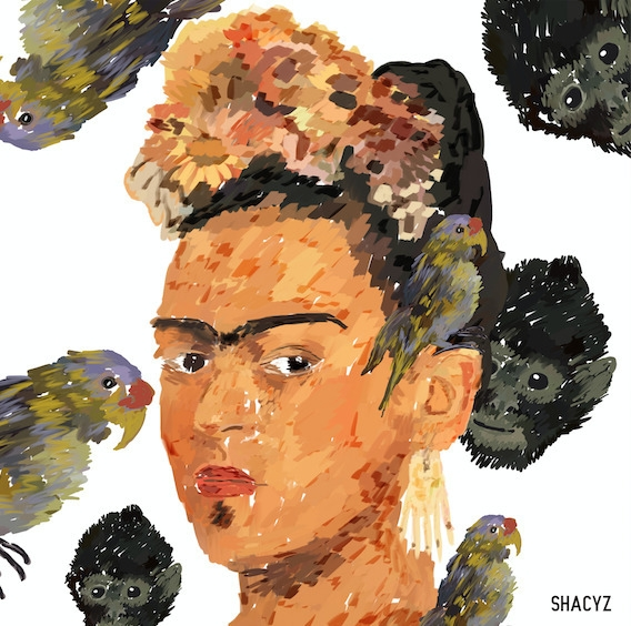 Frida Kahlo friends - shacyz | ello