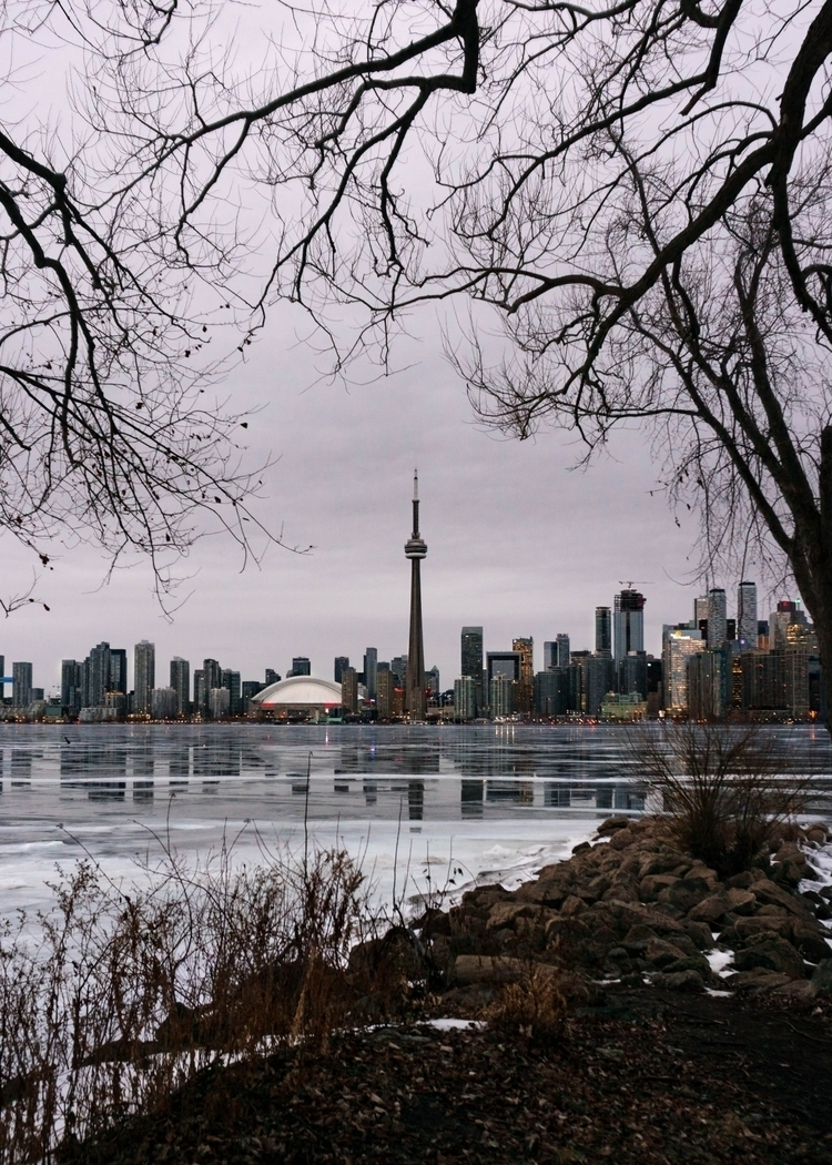 cloudy evening view Toronto sky - miketheneal | ello
