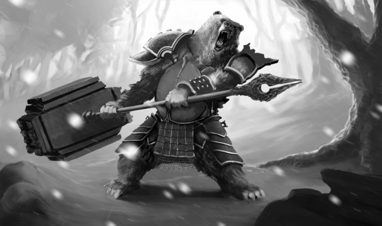 Work progress. Bear warlord. Pr - jmgallo | ello