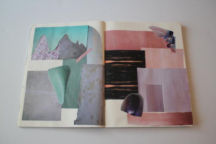 colorjournal, collage, sketchbook - sophianahmad | ello