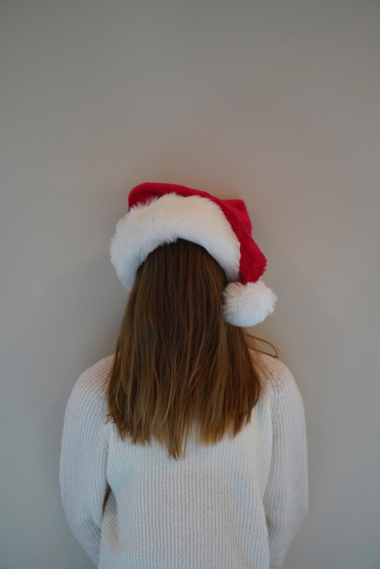 Missing Winter - santa, girl, minimalist - bencourtwright | ello