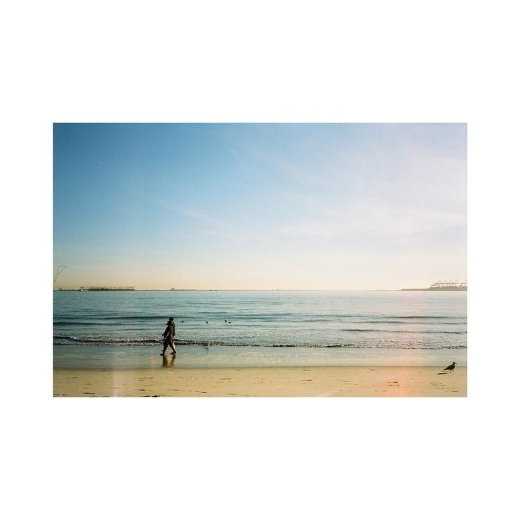 Long Beach - 35mm, Photography, film - lawrenciagaaa | ello