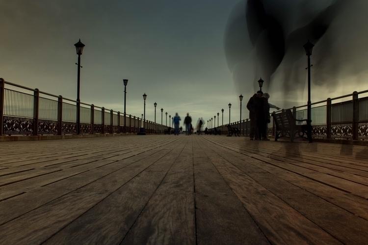 Atop pier Skegness, Lincolnshir - iamdanwalls | ello