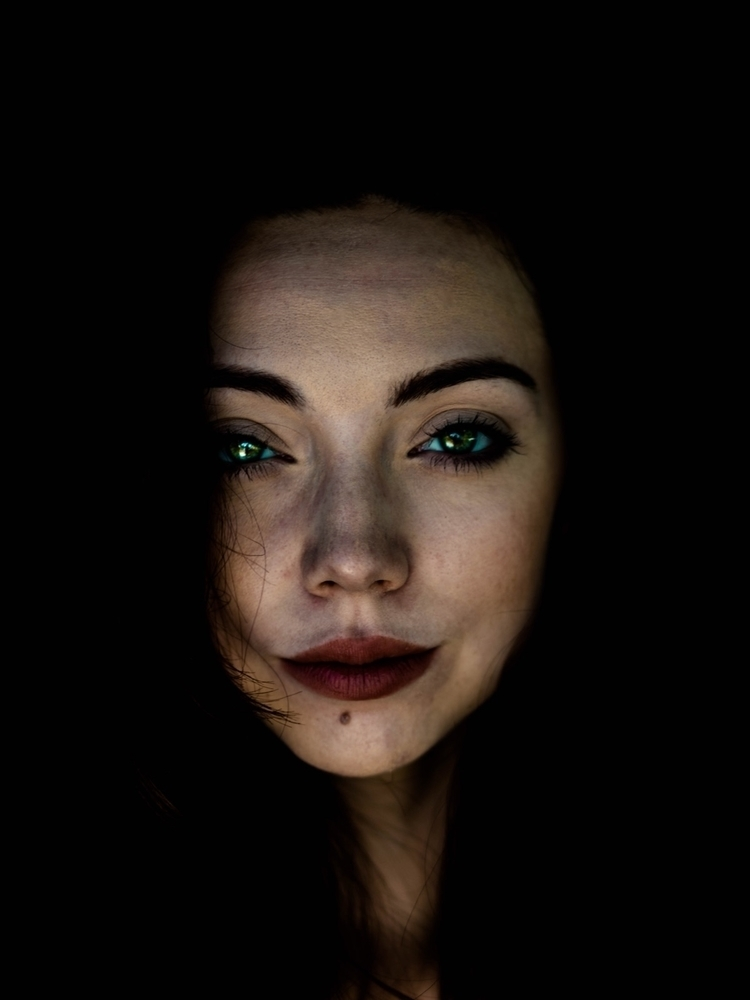 Darkness  - portrait, photography - offtheclockk | ello