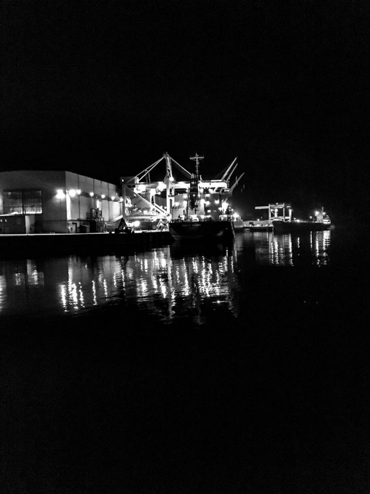 ship, bulkcarrier, blackwhite - espen_skaar | ello