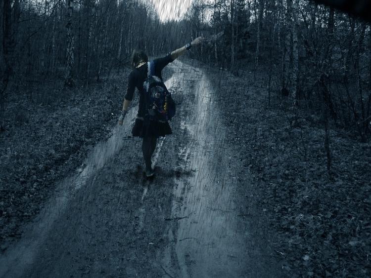 traveller... walking road searc - asensiblehuman | ello