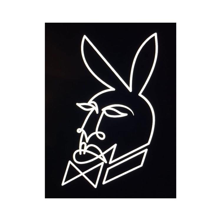 Playboi - Playboy, Bunny, Illustration - lawrenciagaaa | ello
