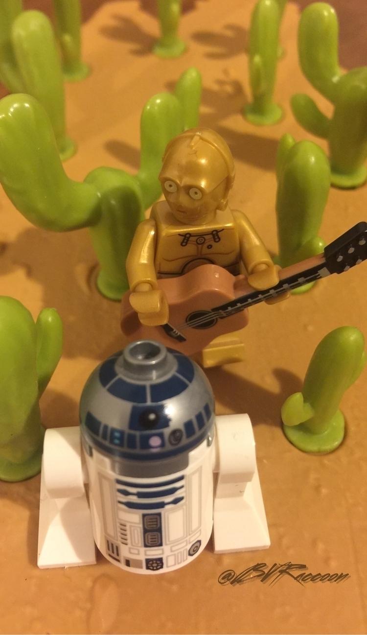 turned R2-D2 - lego, lego365, legostagram - belialvr | ello