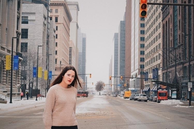 Cleveland, girl, downtown, ello - moskaluk | ello