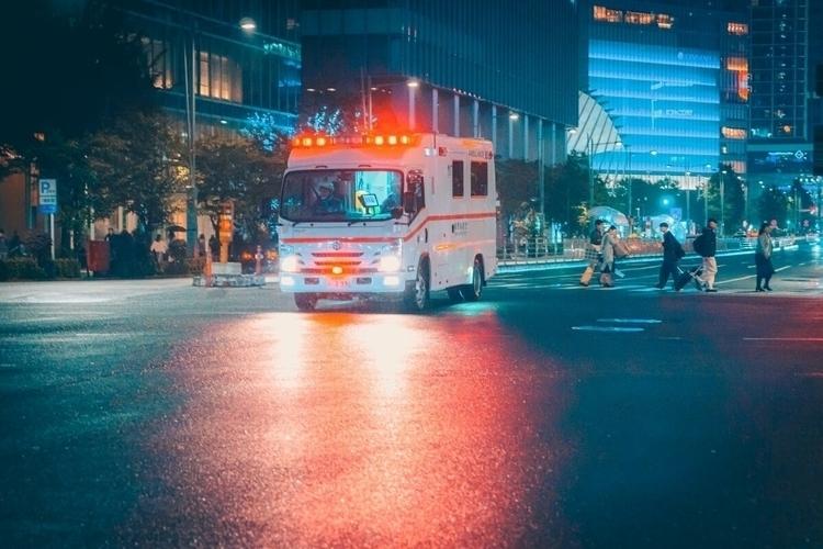 wait firetruck crossing...  - tokyo - fokality | ello