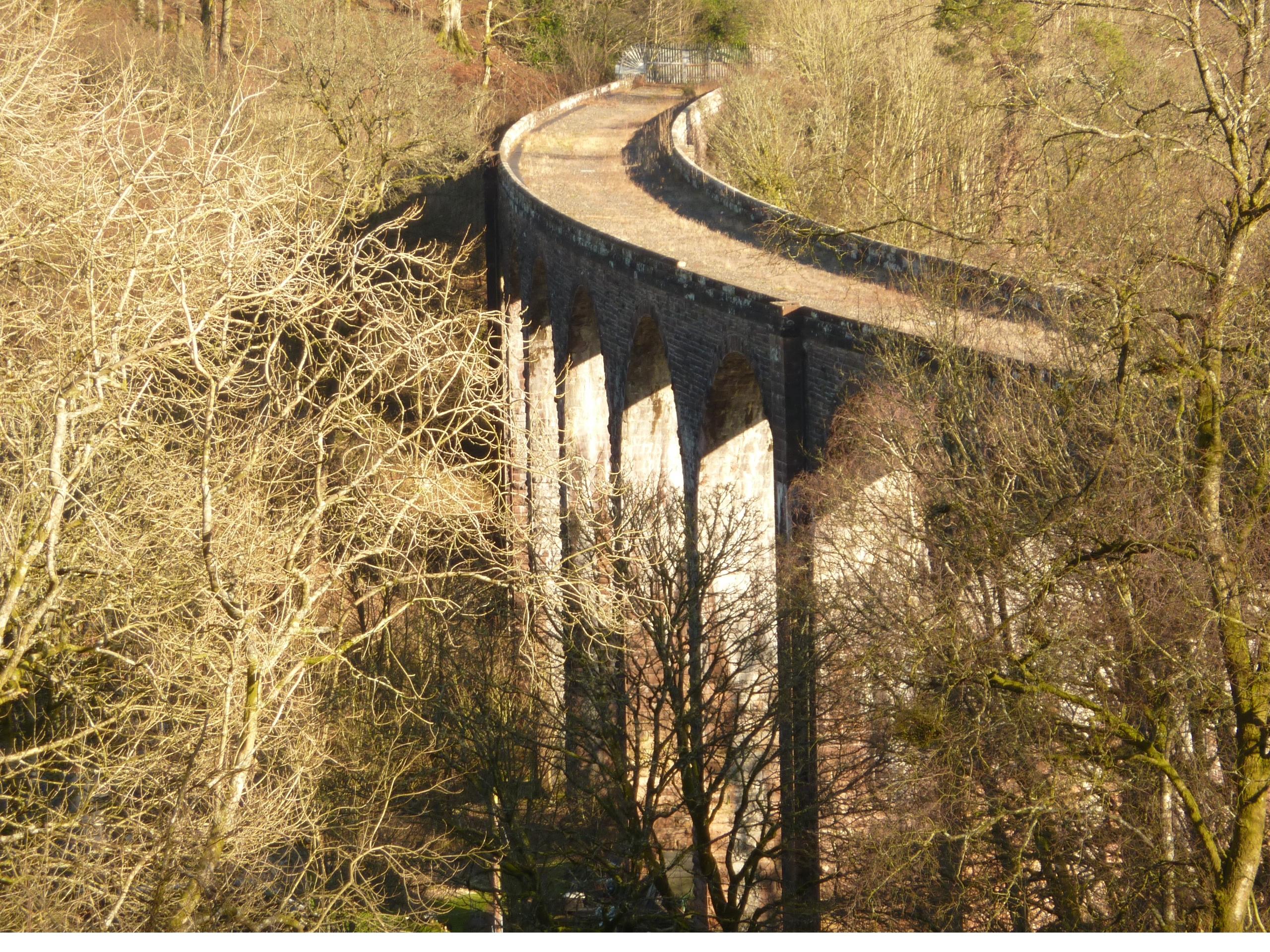 Abandoned viaduct Hills' walk B - firehorsetextiles | ello