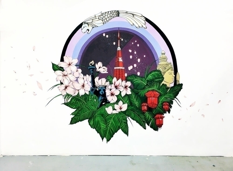 Mural studio Title: Country Fus - neillhw | ello