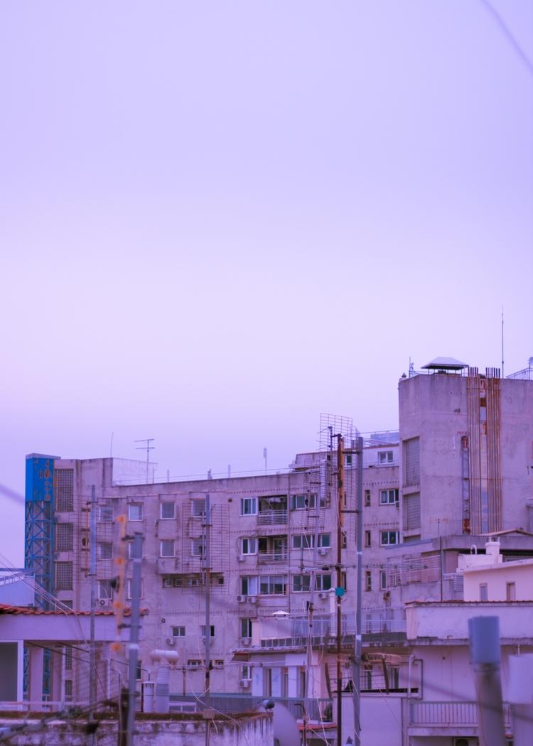 Mind-numbing city - pastel, purple - alda_kw | ello
