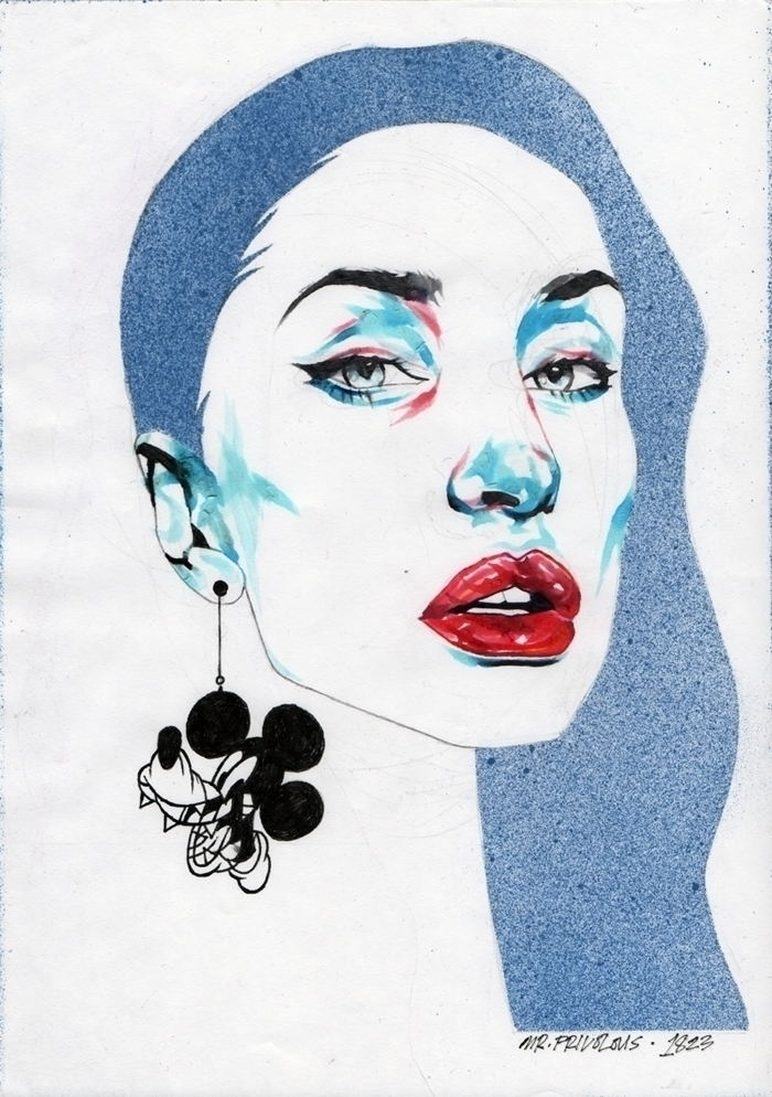 Portrait Evka Rox - mrfrivolous - mrfrivolous | ello