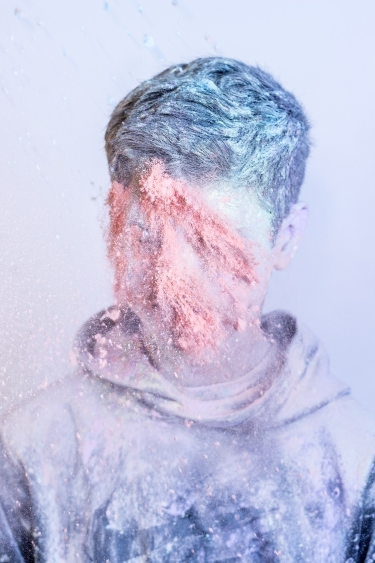 Color Dust Project - portrait, pastel - mel_costanzo | ello