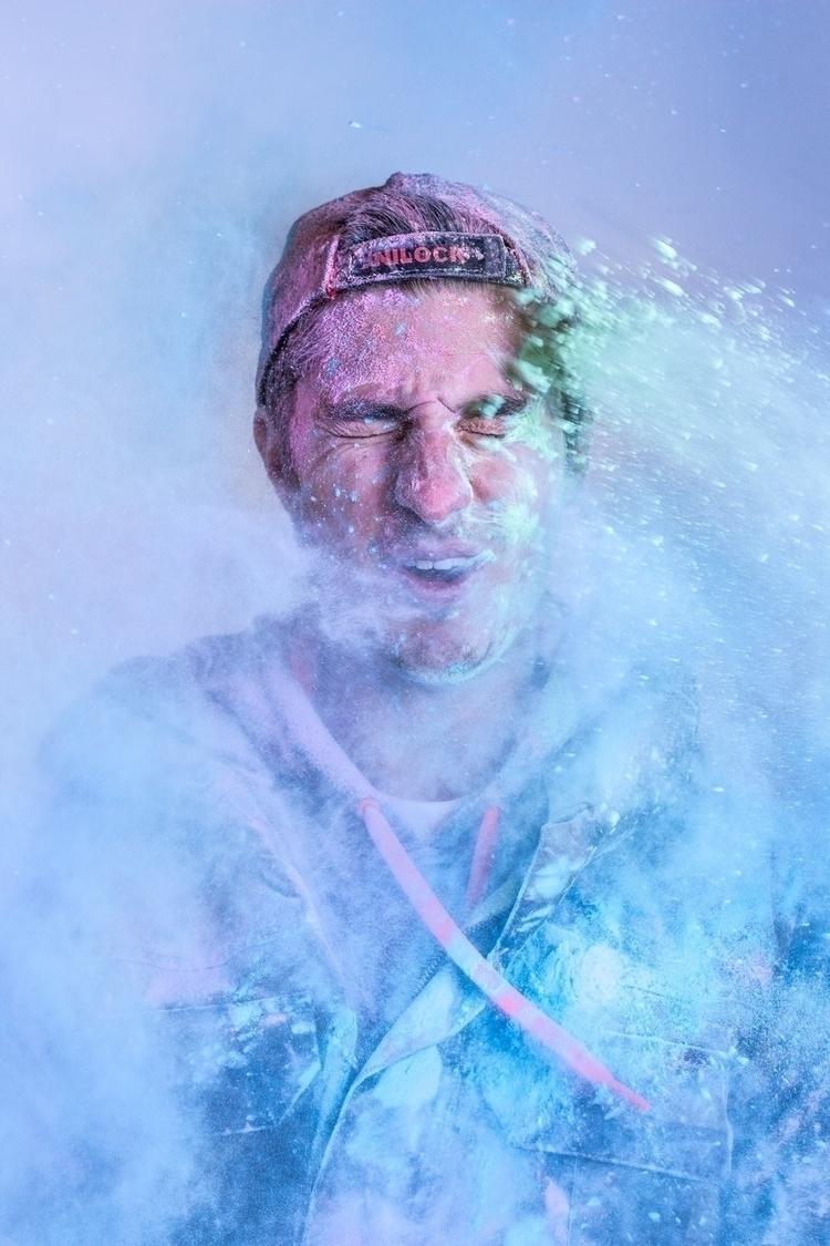 Color Dust Project - portrait, pastel - mel_costanzo | ello