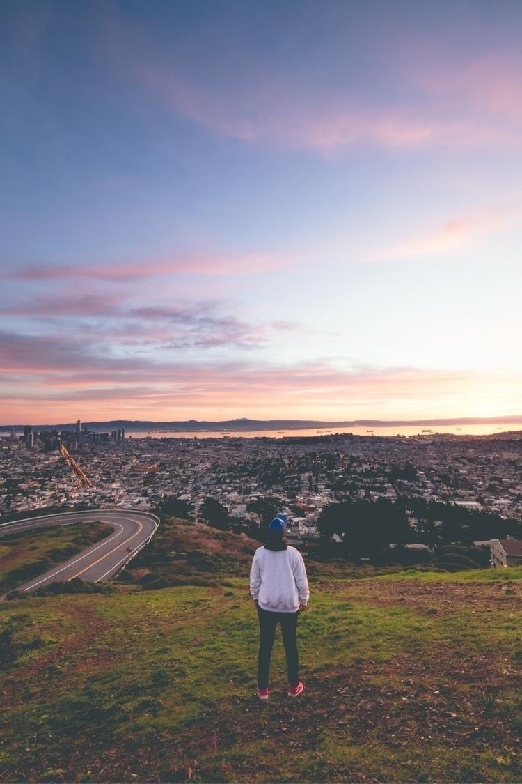 Sunrise twin peaks - sanfransico - davvealcaraz | ello