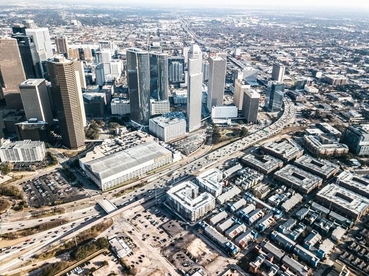 Downtown Houston, Texas Photogr - daemaine   ello