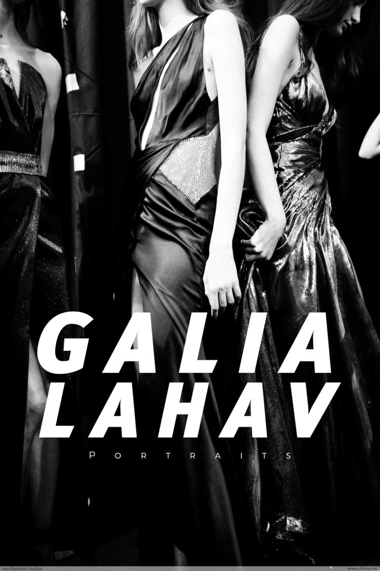 Portrait Galia Lahav Couture SS - clichey | ello