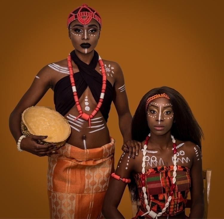 Africa. :fist::type_6:. Pride.  - moshooter | ello