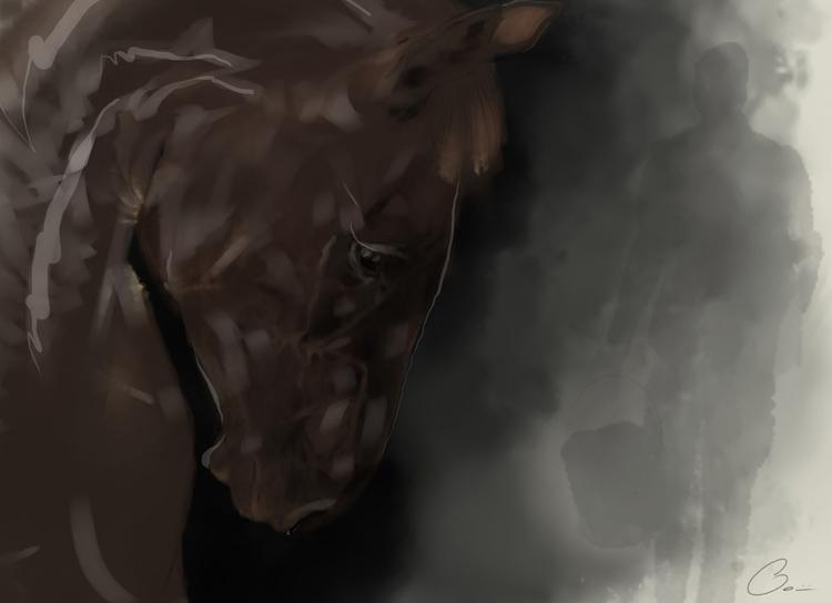 Uomo col secchio, Fabio Bonini - thedog | ello