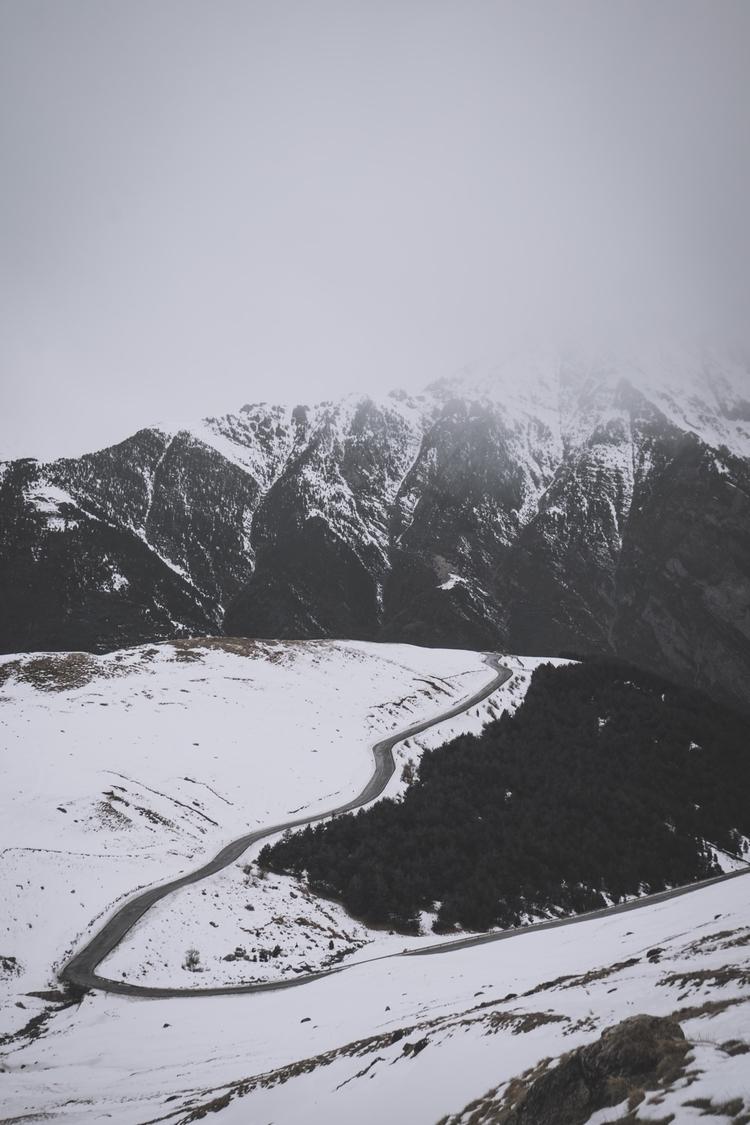 Nature, Photography, Snow, Mountain - photogralvy | ello