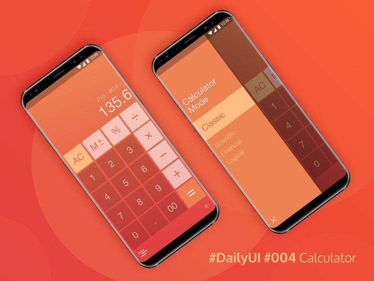 Daily UI 004: Mobile Calculator - mmarandola | ello