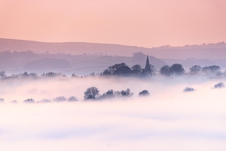 fog rolls Llanddarog, Carmarthe - mathewbrowne | ello