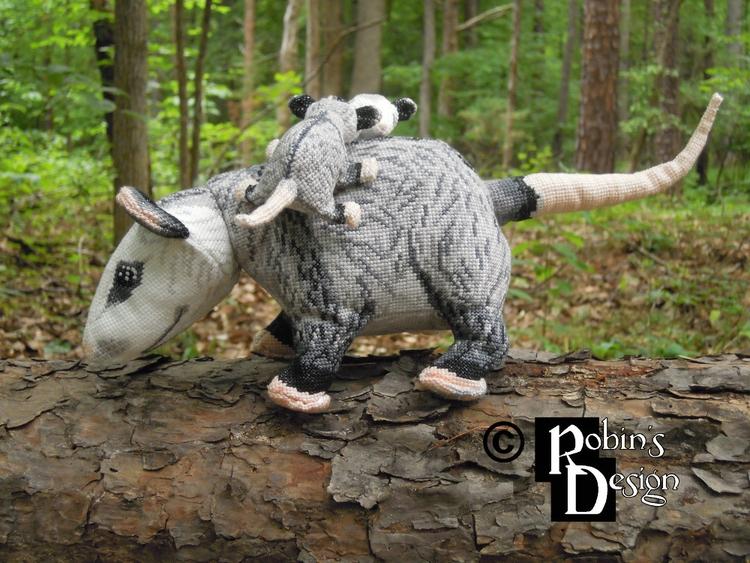 Dreyfus Virginia opossum babies - rhaben | ello