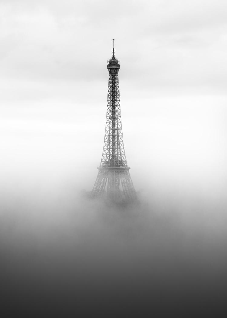 Paris - bnw, blackandwhite, city - raylivez | ello