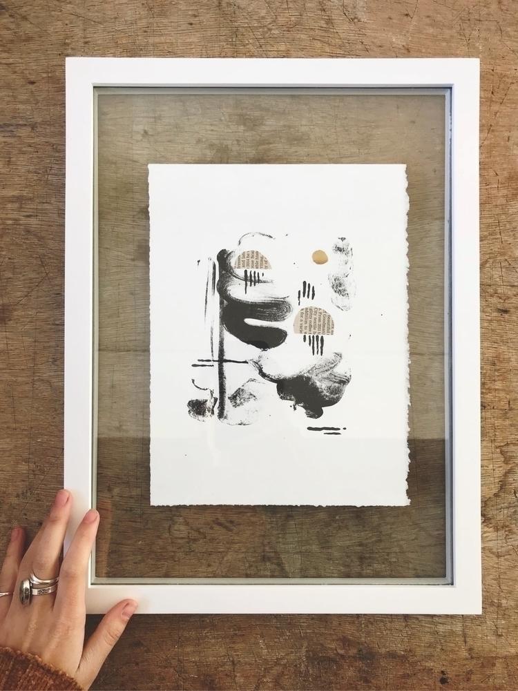 """Squiggle"" 2017  - lithography, printmaking - dakotasky | ello"