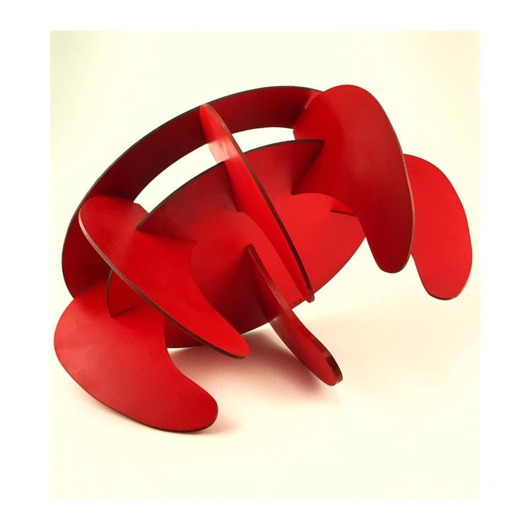 retro-futuristic stool. concept - erlceramics | ello
