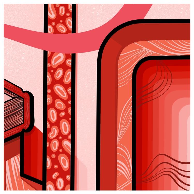 colour Love part illustration N - neillhw   ello