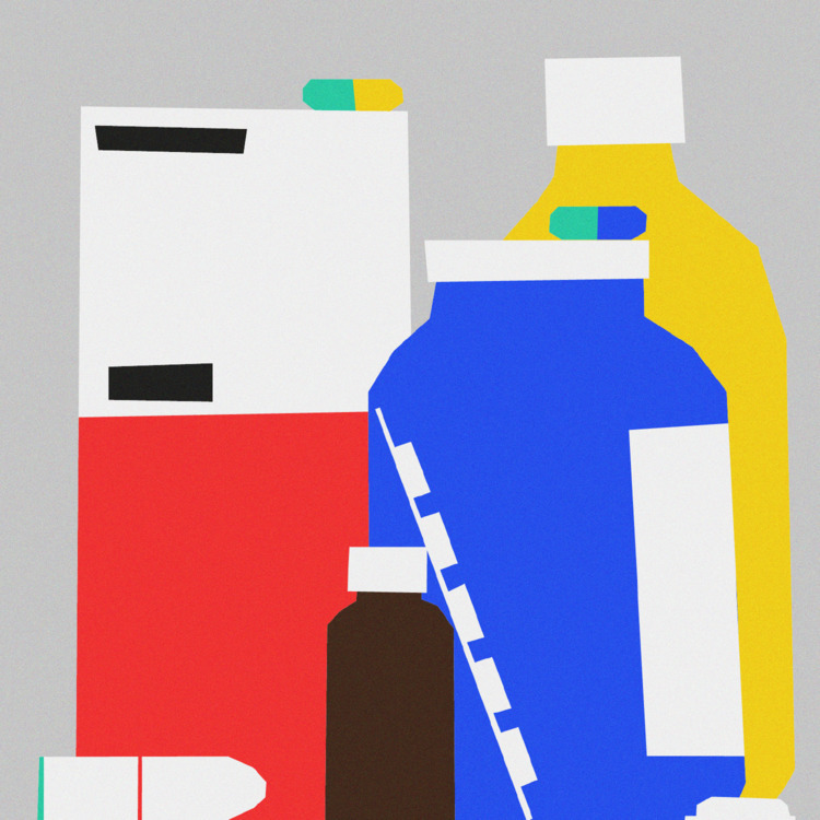BATHROOM CABINET - illustration - sebastiankoenig | ello