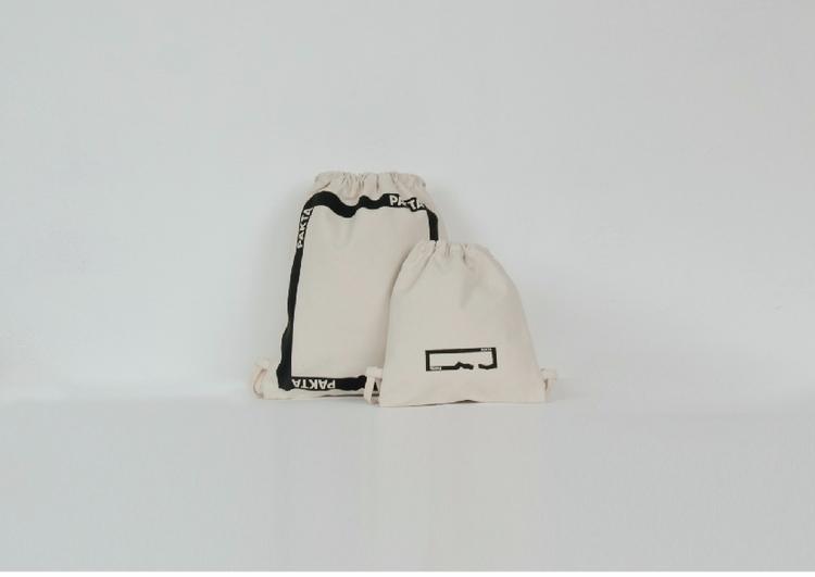 drawstring bags VRECKO MINI nat - pakta | ello