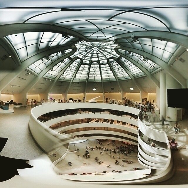 view museum designed ca. 1959 - Guggenheim - bauhaus-movement | ello