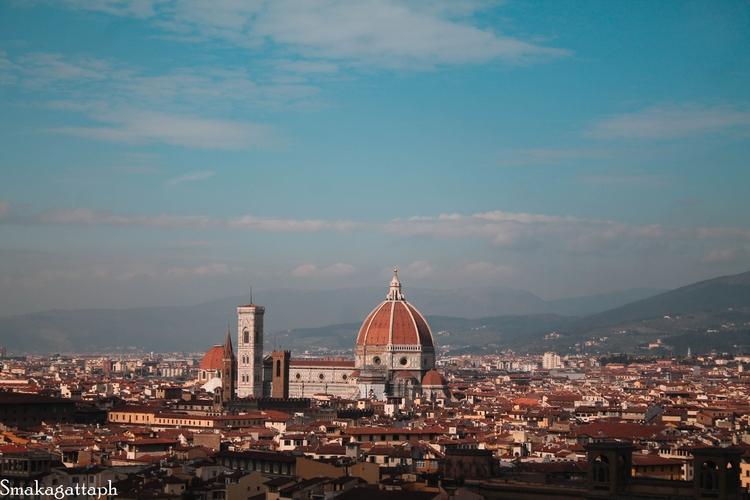 Firenze, Piazzale Michelangelo - smakagattaph | ello