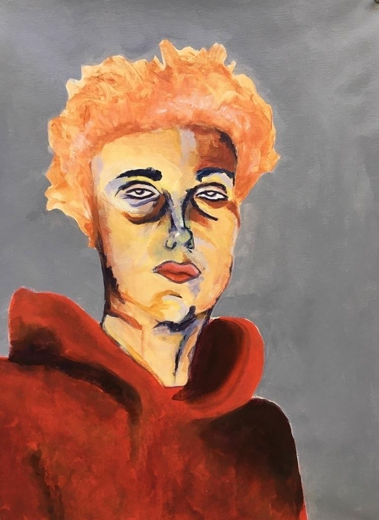 Nathaniel 24 20 - painting, portrait - oliviadiamond | ello