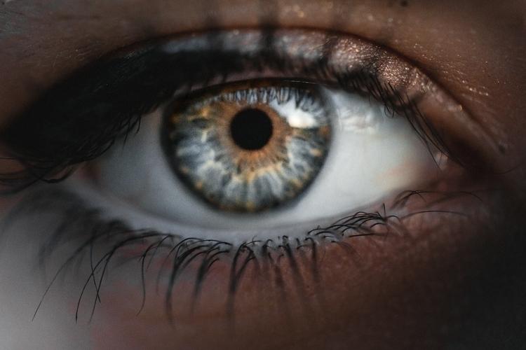La magia de - eye, grayeyes, colour - miriamsierra97   ello