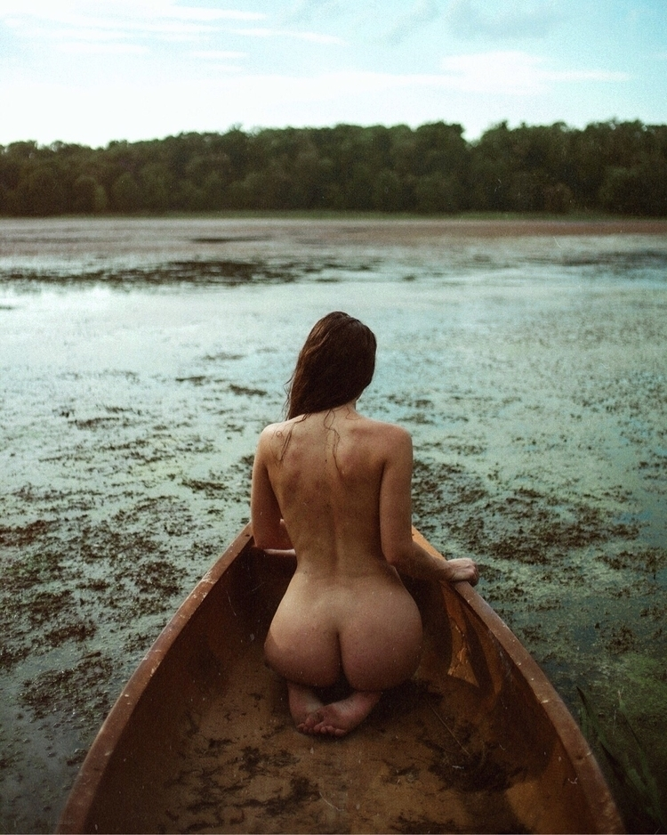 abandoned boat - photography, implied - cvatik | ello
