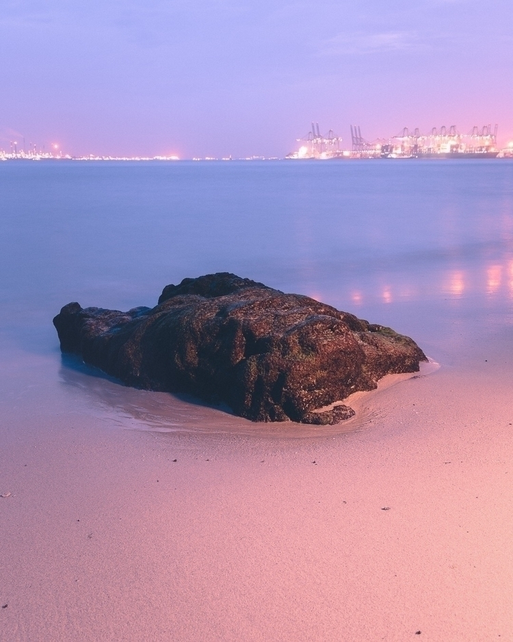 Rock - longexposure, bluehour, rock - jjjoel | ello