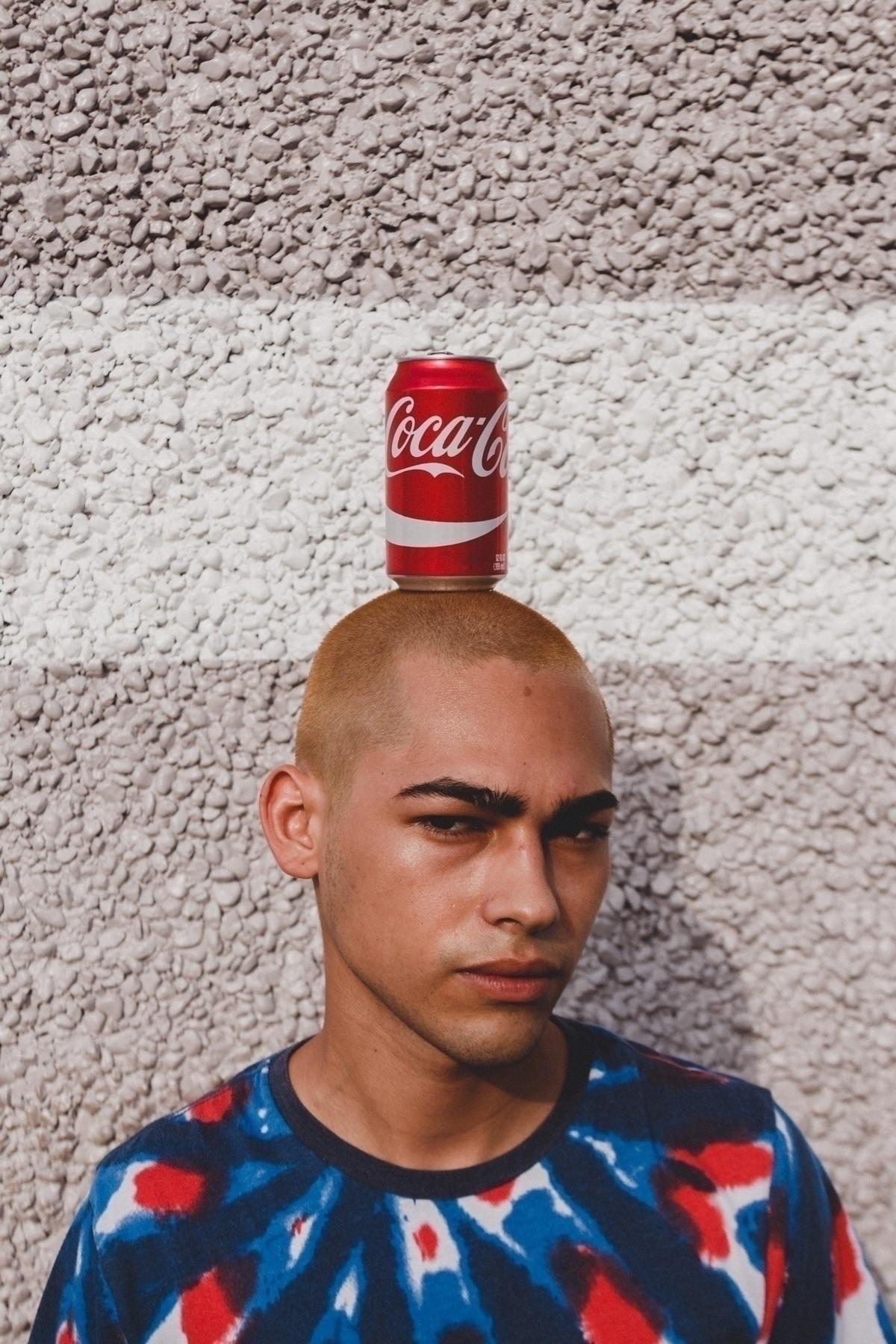 'Coke Head' (June, 2017) •Davie - cesaralmontejr | ello