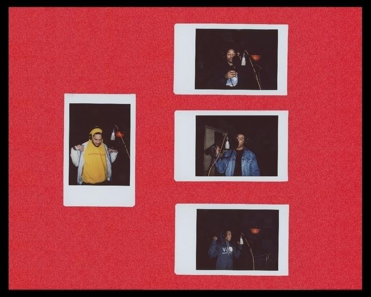 Pictured red: Dope Dylon, Leak  - lettheworktalk | ello