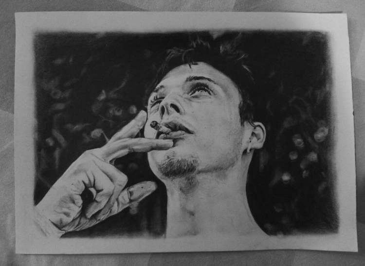 '16 - drawing, pencil, blackandwhite - frozensoul | ello