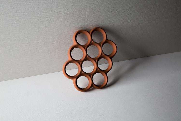 Terracotta Trivet, 2017 - scttcrawford | ello