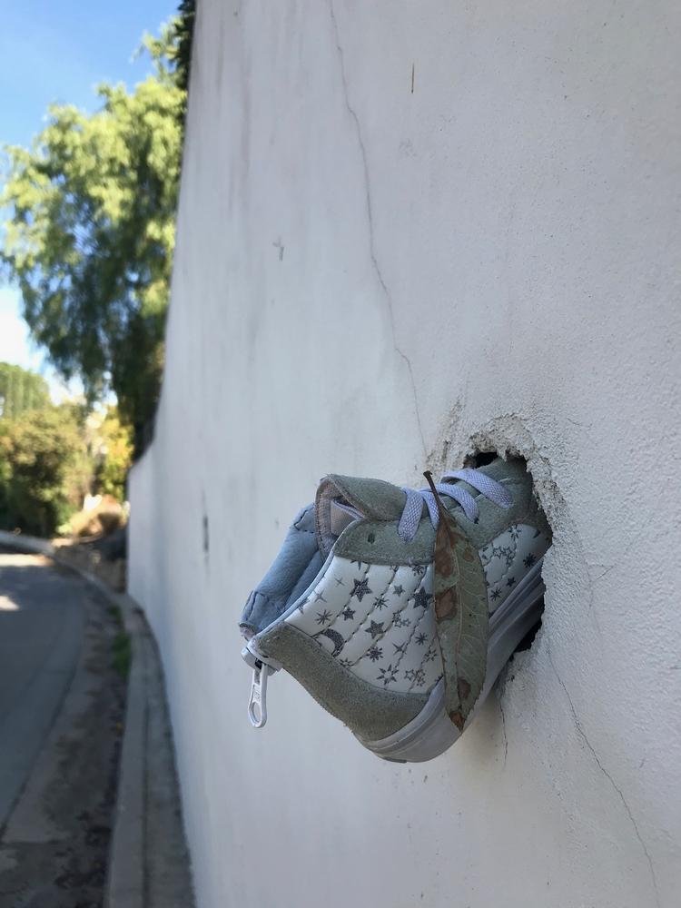 Baby Shoe, Retaining Wall, Silv - odouglas | ello